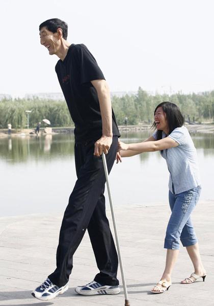 Really tall man