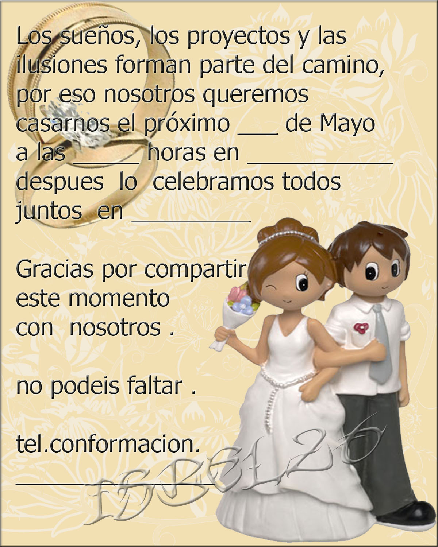 Tarjetas felicitaciones para bodas motorcycle pictures - Tarjeta de boda ...