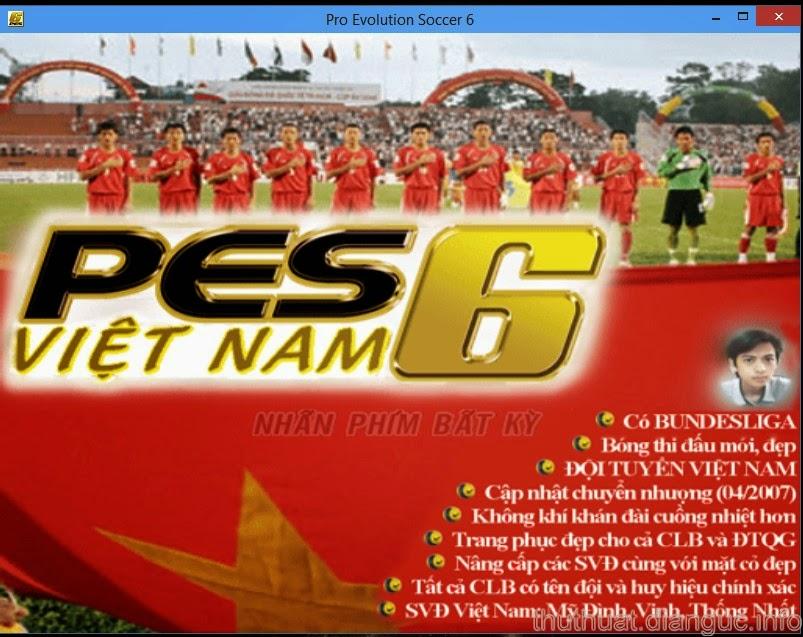Tải game FIFA Pes 6 tiếng việt Đồng Như Kiều full 1 link