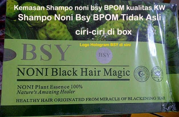 Jual Shampo Noni Bsy BPOM Di Pekanbaru