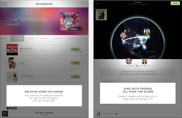 how to sing freely in smule