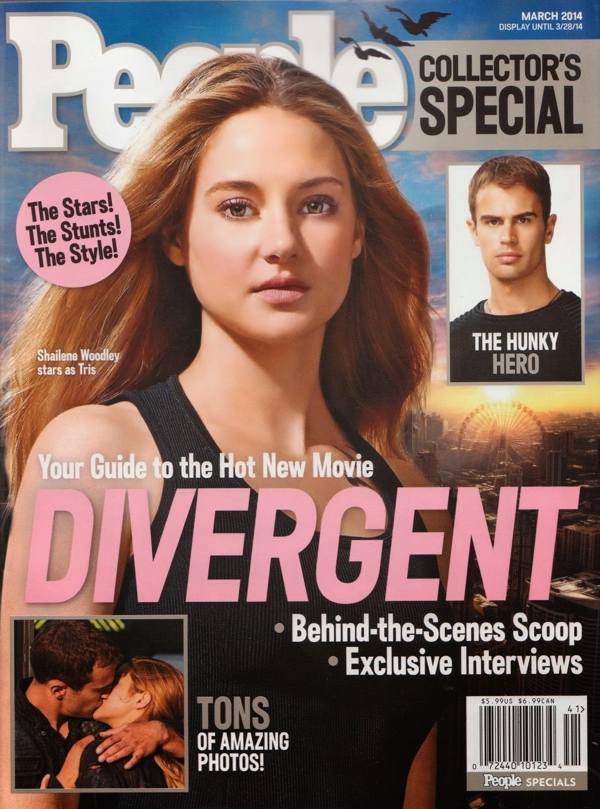 Your Guide to the Hot New Movie Divergent People Collector's edition