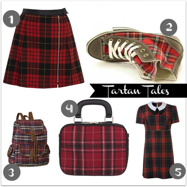 Tartan Fashion Trend for AW13