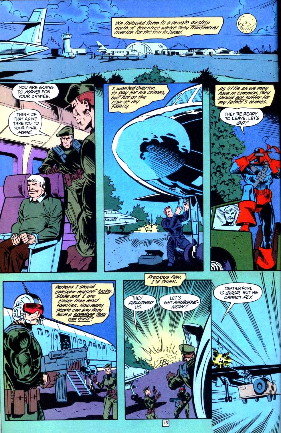 Deathstroke (1991) Issue #36 #41 - English 19