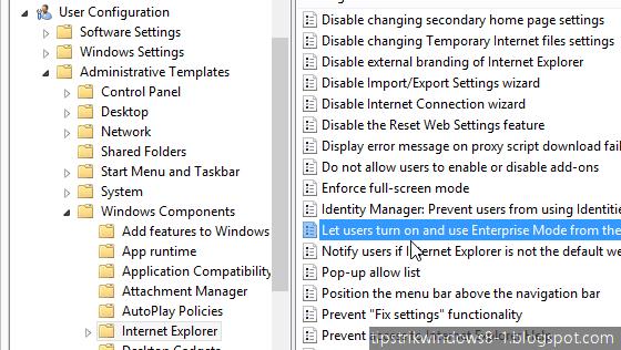 Cara Mengaktifkan Enterprise Mode pada Internet Explorer 11 2