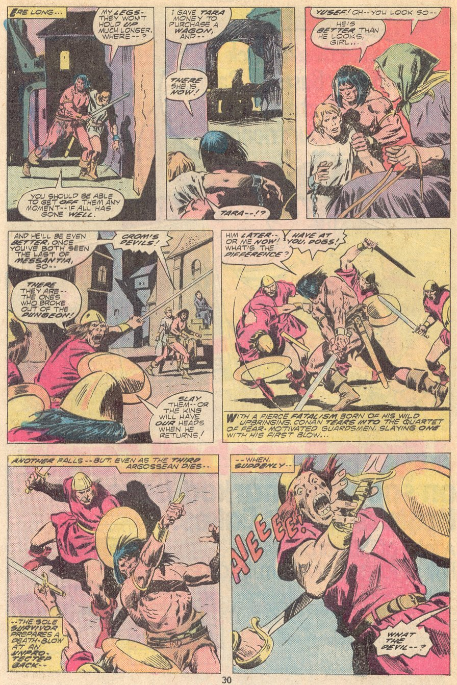 Conan the Barbarian (1970) Issue #67 #79 - English 19