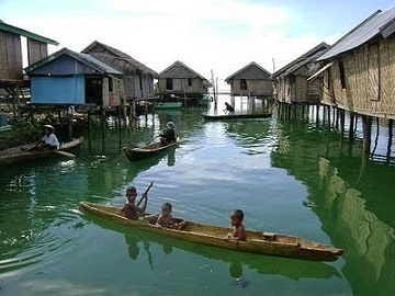 Penjelasan Singkat Suku Bajau Asal Kepulauan Sulu, Filipina Selatan