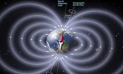 EL POLO NORTE MAGNETICA SE HA DESPLAZADO 161 MILLAS EN 6 MESES