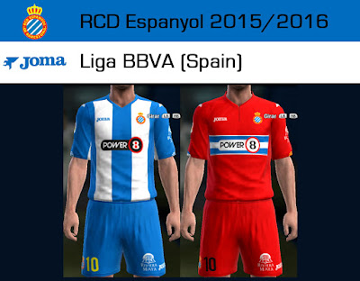 PES 2013 Espanyol, Getafe, Rayo Vallecano 15/16 Update Kits by Dark Shimy