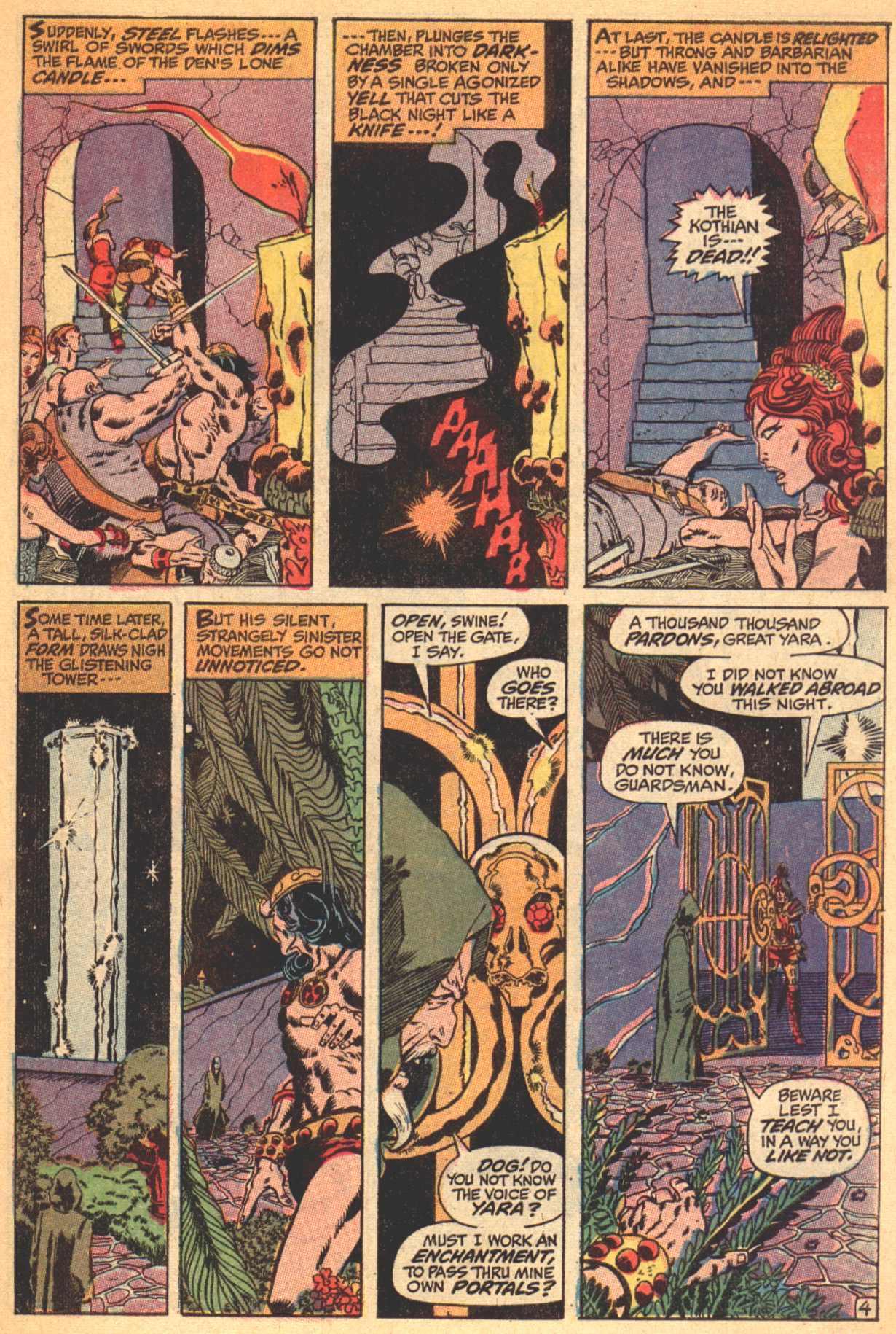 Conan the Barbarian (1970) Issue #4 #16 - English 5