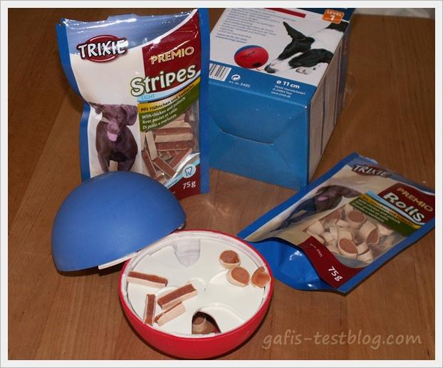 TRIXIE Activity Snack-Ball - geöffnet