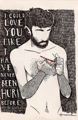 Podría quererte como si nunca hubiese estado herido antes.