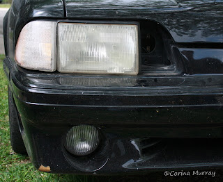 1987 Mustang 5.0 with Signal Light Removed