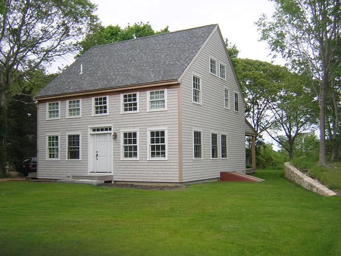 Colonial Timber Frame Home