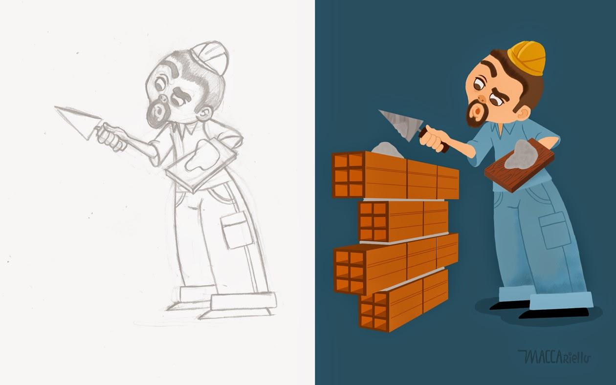 Character Design Work : Marcos maccariello