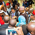 PHOTONEWS: Buhari Commissioned The Nigerian Immigration Center In South Africa; Met The Nigerian Community