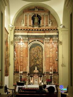 Capilla de la Virgen del Coral - Iglesia de San Ildefonso - Sevilla