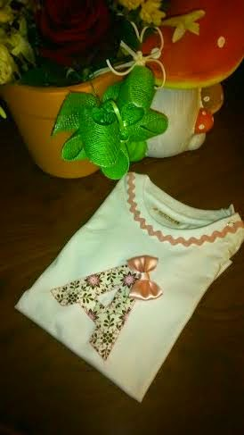 camiseta tuneada para bebe 18 meses