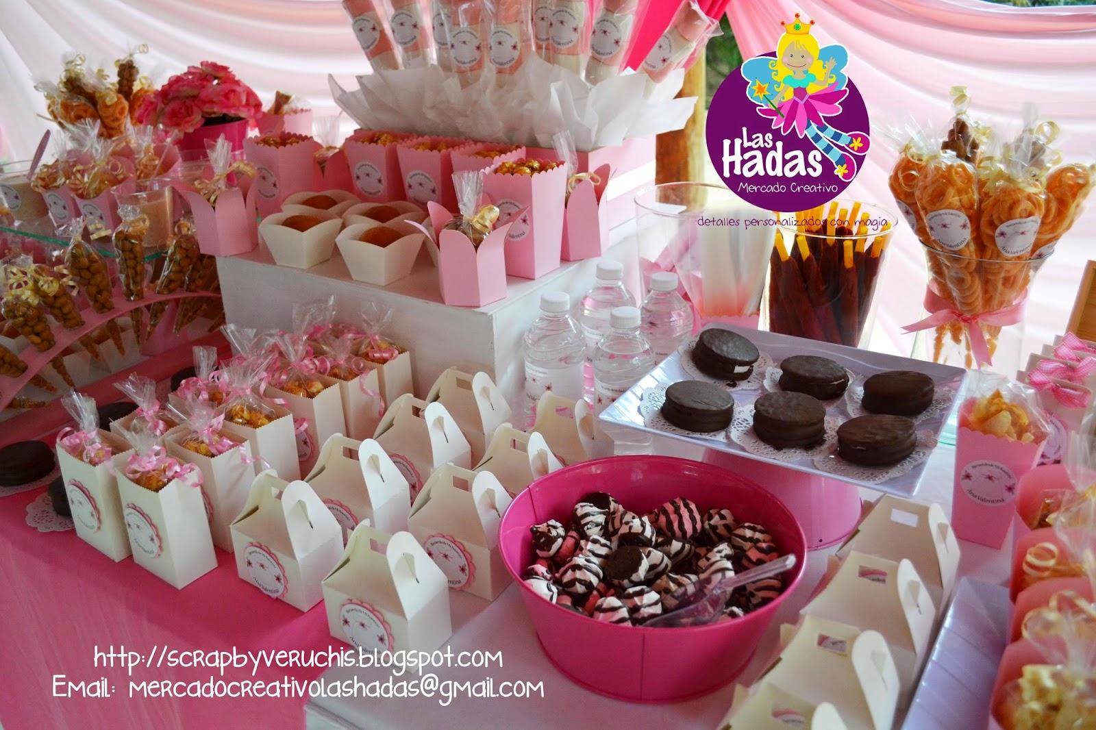 Mesas de dulces para bautizo de ni a imagui for Mesa de dulces para bautizo de nina