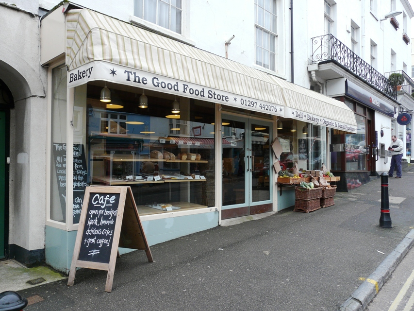 Good food shops lyme regis the good food store for Cuisine store