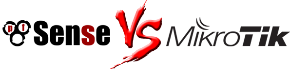 MikroTik εναντίον pfSense
