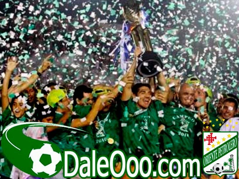 Oriente Petrolero - Oriente Petrolero Campeón 2010 - DaleOoo.com sitio del Club Oriente Petrolero