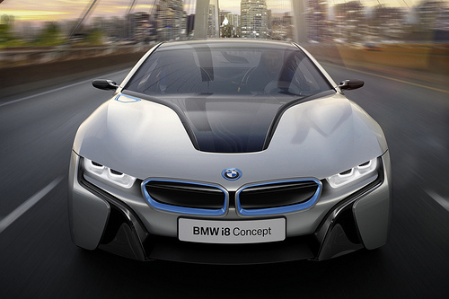 BMW i8 Concept: First Look | Electric Vehicle News
