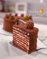 CHOCOLATE SPARTAK CAKE PJJCLASS