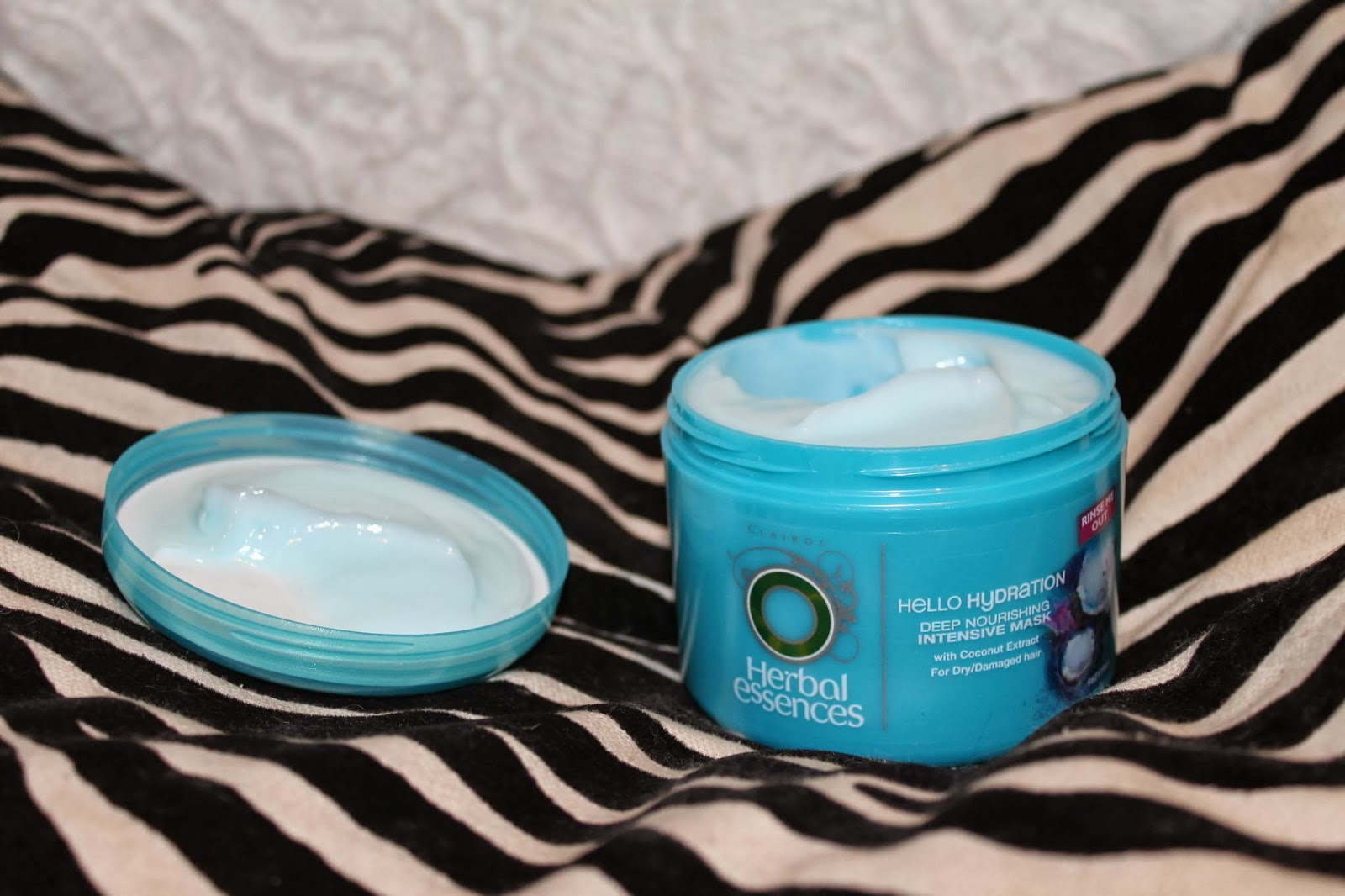 Herbal Essences Hello Hydration deep nourishing intensive mask blog post