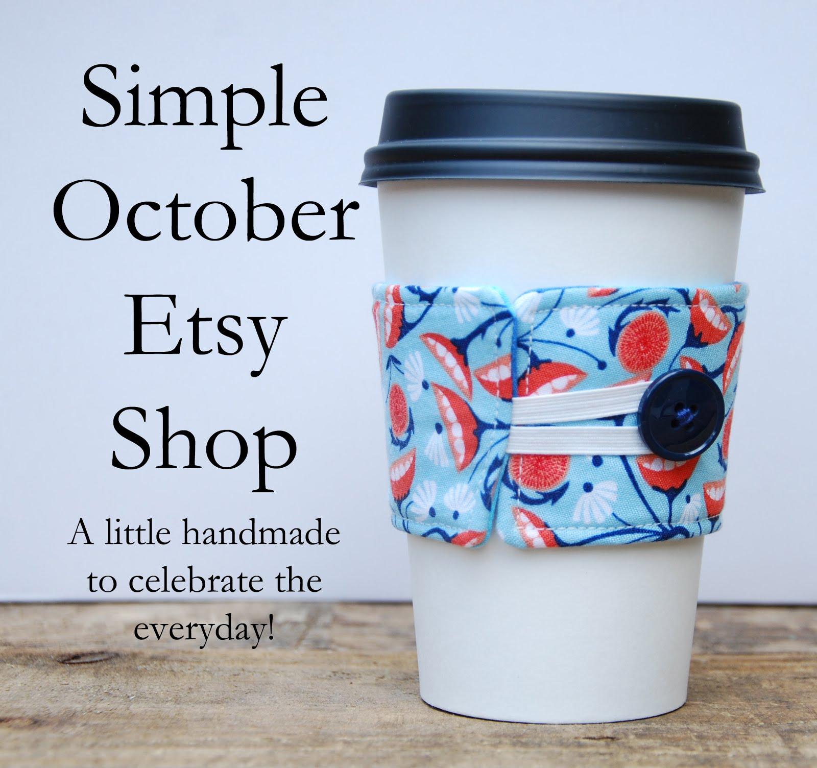 Simple October Etsy Shop