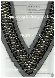 Beaded and Sequins Applique Manufacturer, Wholesale and Supplier - Hong Kong Li Seng Co Ltd