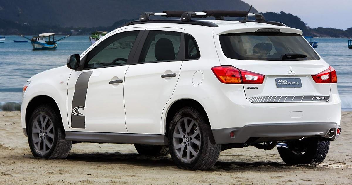 Mitsubishi ASX 2016 O'Neill: preço R$ 96.990 - série limitada | CAR.BLOG.BR - Carros