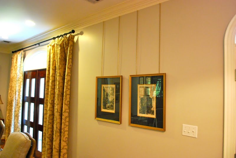 Interior Design Musings Picture Hanging Details