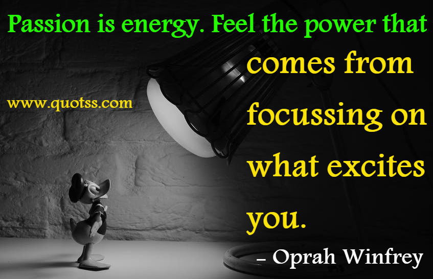 Amazing Quote by Oprah Winfrey on Quotss
