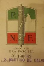 TESSERA P.N.F.