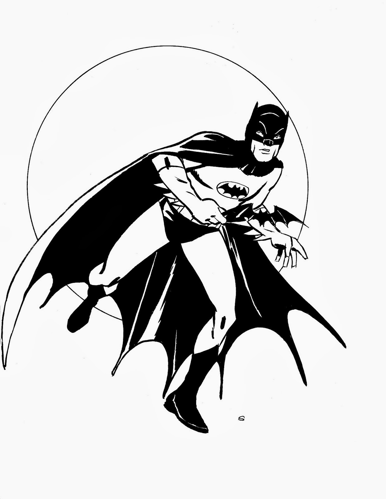 Batman coloring pages super coloring book for Batman coloring page