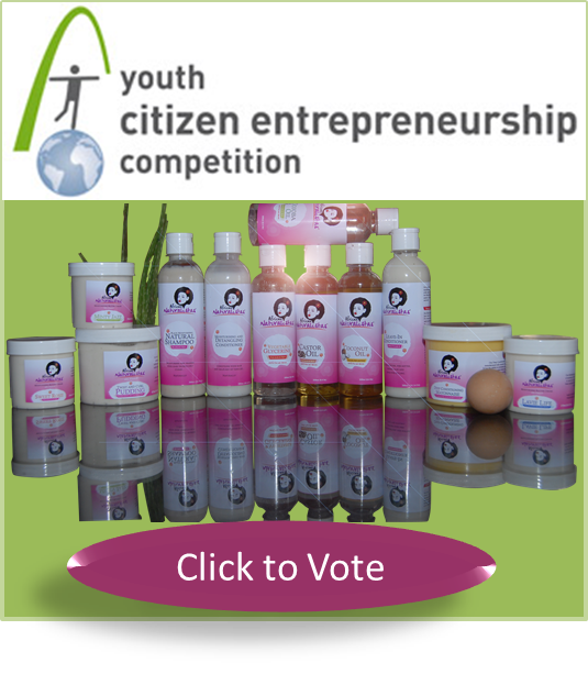 Vote African Naturalistas for the Youth Citizen Entrepreneurship Competition