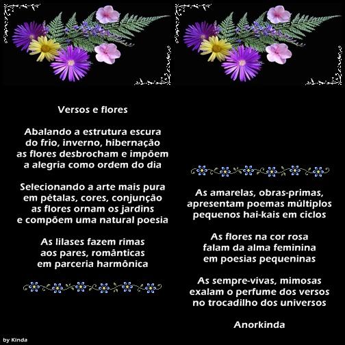 Versos e flores