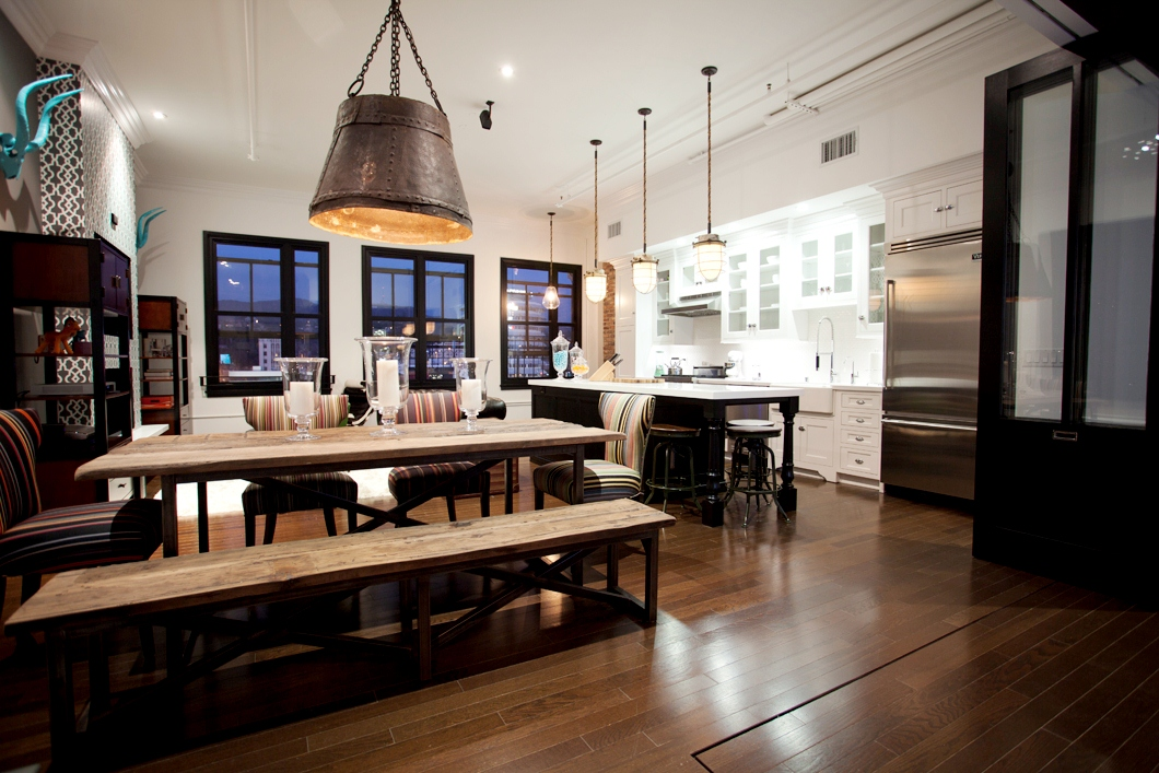 Loft living industrial rustic chic cococozy for Rustic industrial decor