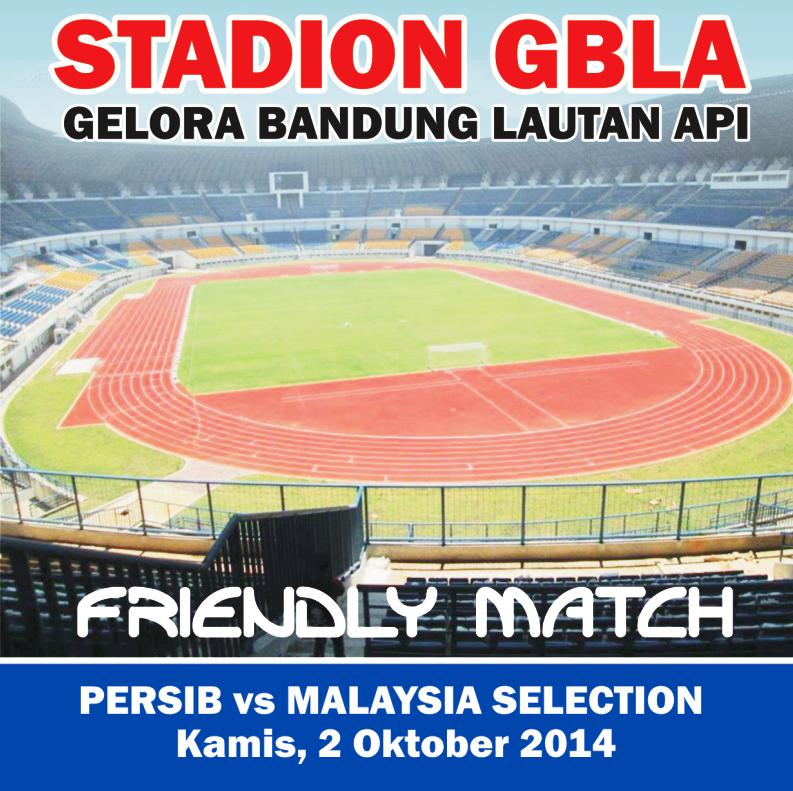Harga Tiket Persib vs Malaysia Selection di Calo Naik Hingga 100%