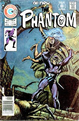 The Phantom v2 #71 charlton comic book cover art by Don Newton
