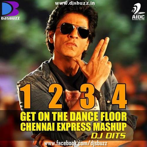 1234 get on the dance floor by dj dits funky mix