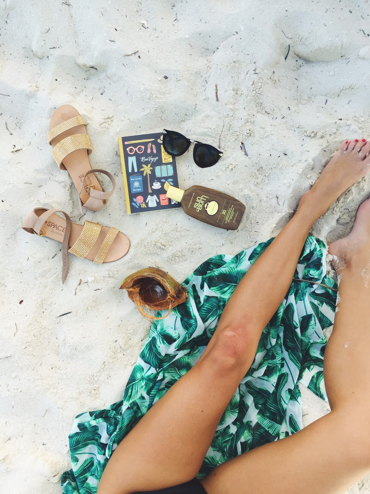 l space sandals bikini, caribbean cruise vacation, pursuit of shoes, ashley torres