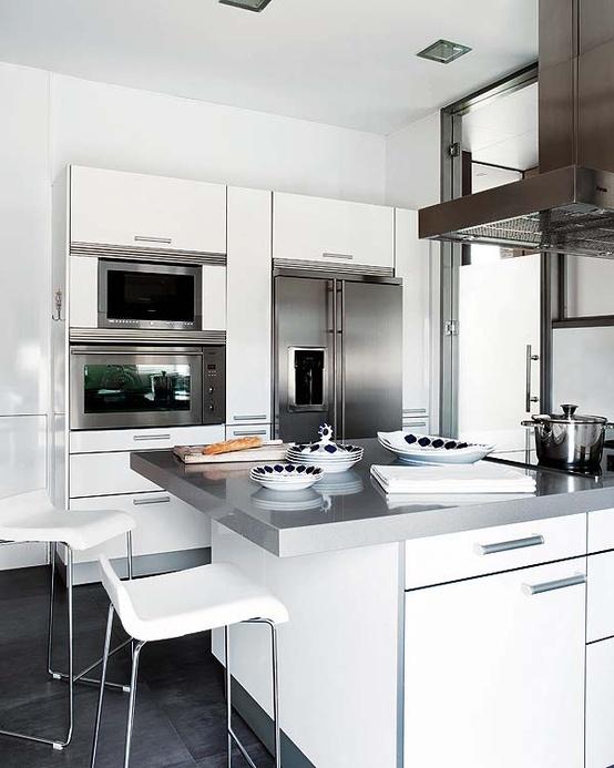 X casas decoracion x decoraci n de cocinas de color blanco - Cocinas de color blanco ...