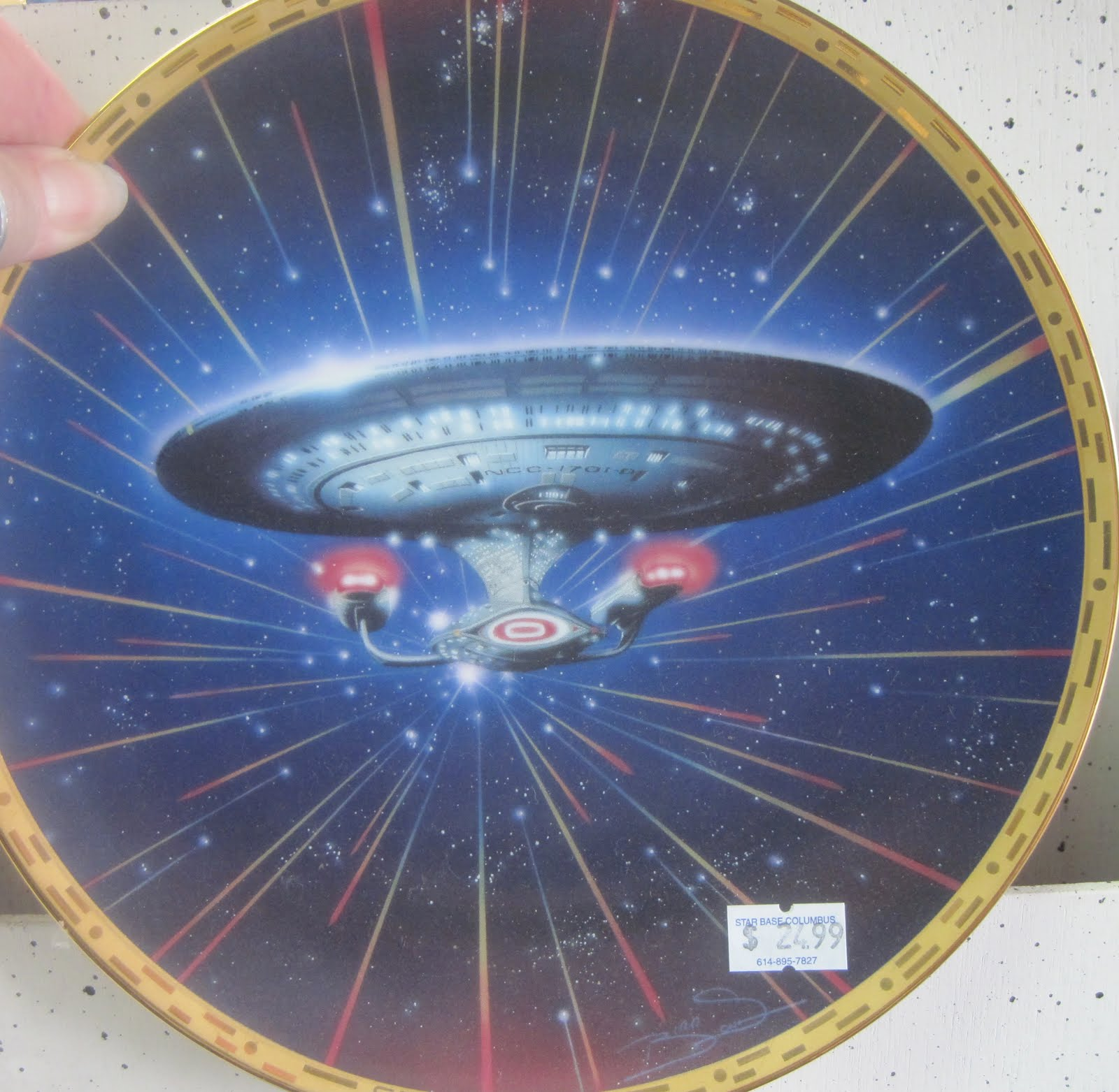 Star Trek Collectible Plates