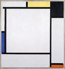 Piet Mondrian - 7 de março / aniversário do seu nascimento