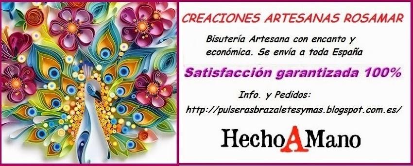 EL RINCON DE ROSAMAR, Creaciones artesanas