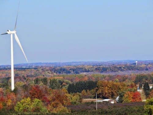 view from Mason County Michigan High Point