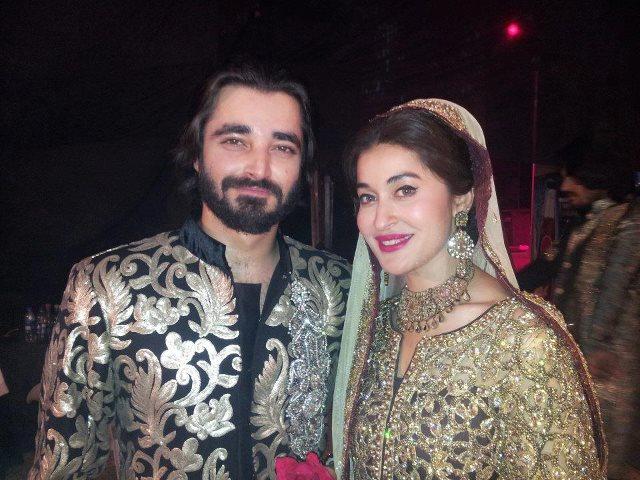 Hamza Ali Abbasi & Shaista Lodhi in Bridal Couture week - Pakistan ...