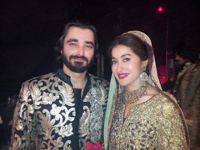 Hamza Ali Abbasi & Shaista Lodhi in Bridal Couture week - Pakistan Celebrites